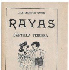 Livros em segunda mão: RAYAS CARTILLA TERCERA ALVAREZ-EDT.SANCHEZ RODRIGO SIN USO ORIGIONAL IMPORTANTE LEER DESCRIPCION. Lote 242313920