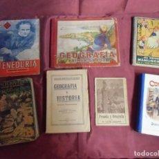Livres d'occasion: LOTE DE ANTIGUOS LIBROS ESCOLARES. VARIAS EDITORIALES. VER FOTOS.. Lote 243050955