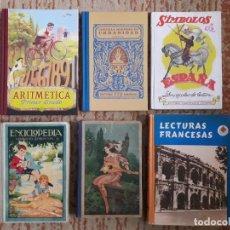 Libros de segunda mano: LOTE 6 LIBROS ESCOLARES. Lote 243229285