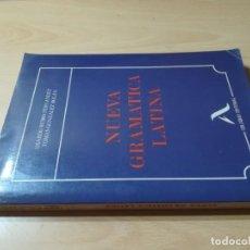 Livres d'occasion: NUEVA GRAMATICA LATINA / LISARDO RUBIO, TOMAS GONZALEZ / COLOQUIO / CJA140. Lote 243654600