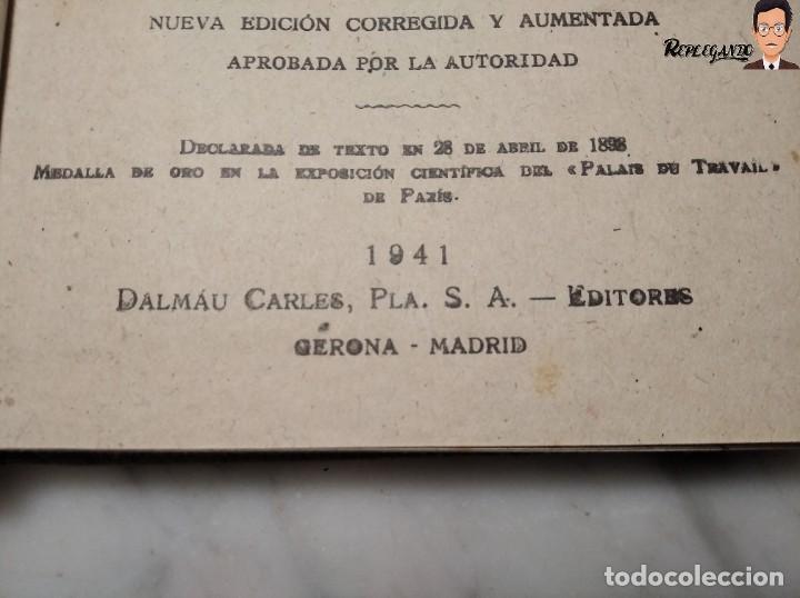 Libros de segunda mano: ANTIGUO LIBRO DE TEXTO RESUMEN LECCIONES DE ARITMÉTICA - JOSÉ DALMÁU CARLES - GRADO MEDIO - 1941 - Foto 7 - 243919895