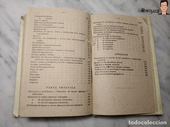 Libros de segunda mano: ANTIGUO LIBRO DE TEXTO RESUMEN LECCIONES DE ARITMÉTICA - JOSÉ DALMÁU CARLES - GRADO MEDIO - 1941 - Foto 12 - 243919895