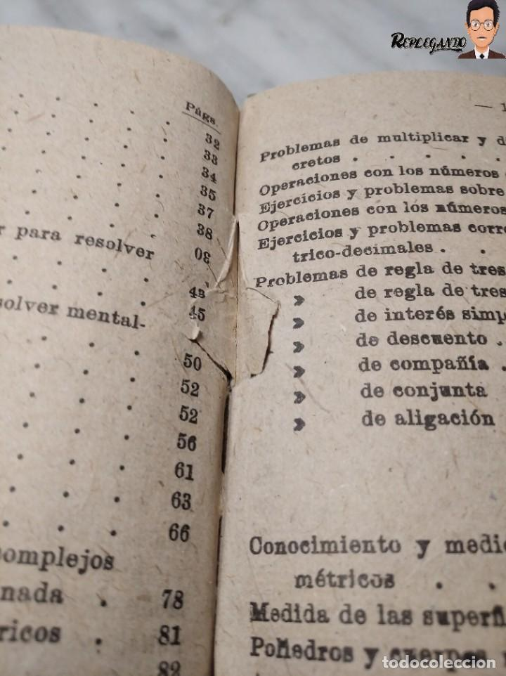 Libros de segunda mano: ANTIGUO LIBRO DE TEXTO RESUMEN LECCIONES DE ARITMÉTICA - JOSÉ DALMÁU CARLES - GRADO MEDIO - 1941 - Foto 13 - 243919895