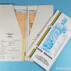Libros de segunda mano: CARTA ATENEA, CUADRO GENERAL DE HISTORIA COMPARADA DE LAS CIENCIAS, ARTES Y SABERES OCCIDENTALES. Lote 243962250