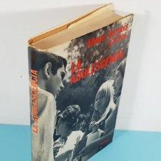 Libros de segunda mano: LA ADOLESCENCIA, ALLAER, GARNOIS Y OTROS, HERDER 1972, TAPA DURA CON SOBRECUBIERTA 426 PAG. Lote 243968285