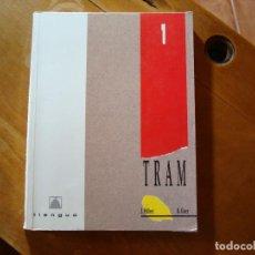 Libros de segunda mano: TRAM LLENGUA 1 BUP VALENCIANO TEIDE 1994. Lote 244411450