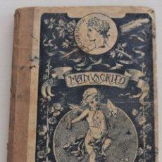 Libros de segunda mano: MANUSCRITO PARA NIÑOS Y NIÑAS - JOSÉ FRANCÉS - EDITADO EN VALENCIA AÑOS 40. Lote 244426170