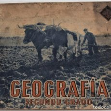 Libros de segunda mano: GEOGRAFÍA SEGUNDO GRADO - EDELVIVES - AÑOO 1944. Lote 244428235