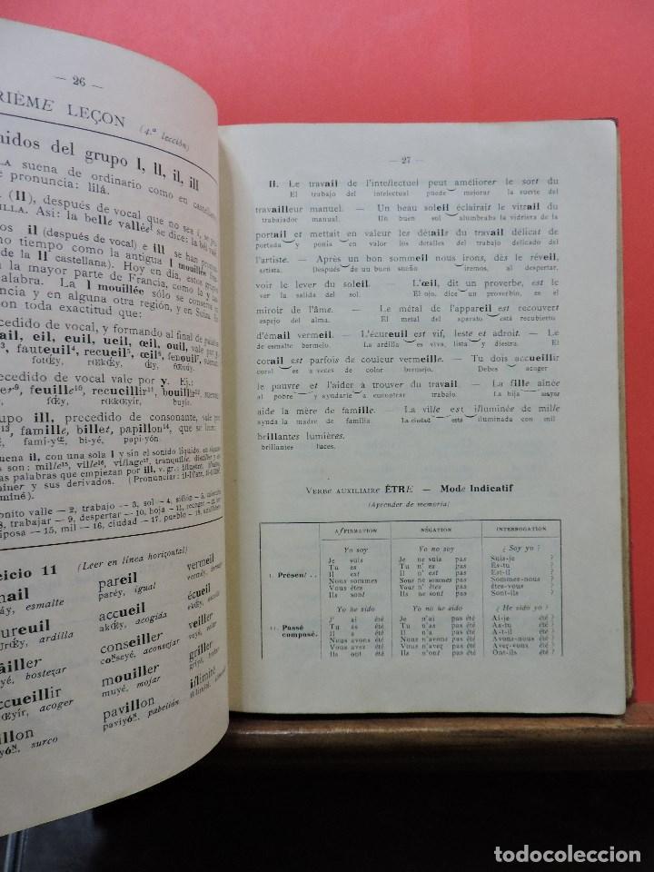 Libros de segunda mano: Método Perrier. Primer curso de Lengua Francesa. Libro del alumno. Ediciones Perrier - Foto 2 - 244509955