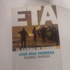 Libros de segunda mano: ETA LIBRO. Lote 244540270