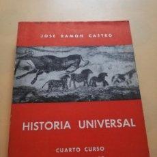 Libros de segunda mano: HISTORIA UNIVERSAL. CUARTO CURSO DEL BACHILLERATO. JOSE RAMON CASTRO.1969. PAG. 296.. Lote 244600195