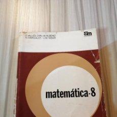 Livros em segunda mão: MATEMÁTICAS 8 EGB. SM.. Lote 244762185