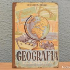 Libros de segunda mano: GEOGRAFÍA ELEMENTAL SEGUNDO GRADO-EDICIONES BRUÑO-1954. Lote 244884160