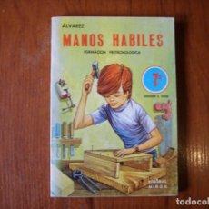 Libros de segunda mano: LIBRO MANOS HÁBILES EDITORIAL MIÑON 7 EGB. Lote 244894595