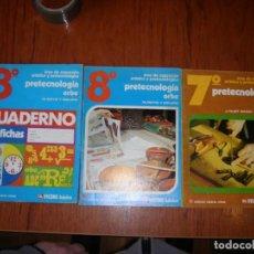 Libros de segunda mano: LOTE DE TRES LIBROS PRE TECNOLOGÍA ORBE VICENS VIVES. Lote 244895330
