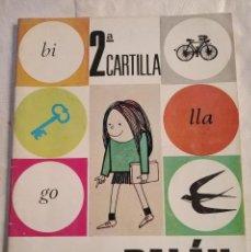 Libros de segunda mano: 2ª CARTILLA METODO FOTOSILABO PALAU 1972. Lote 245119520