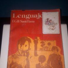 Libros de segunda mano: LENGUAJE 8 SANTILLANA EGB. Lote 245125175