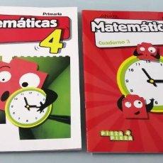 Libros de segunda mano: ANAYA MATEMÁTICAS PRIMARIA TERCER TRIMESTRE. LIBRO Y CUADERNO. PERFECTO ESTADO.. Lote 245180825
