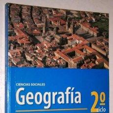 Libros de segunda mano: GEOGRAFÍA 2º CICLO EDUCACIÓN SECUNDARIA DE ED. OXFORD EDUCACIÓN EN BARCELONA 1998. Lote 245307895