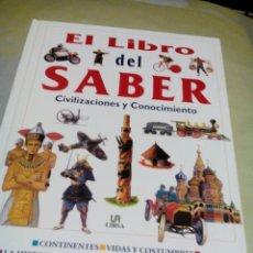 Libros de segunda mano: RMI. /LIBRO CON IMAGENES/EL LIBRO DEL SABER/MIDE APROX 24X31CM/TIENE 64 PAGINAS. Lote 245454790
