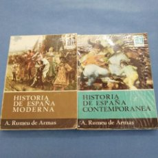 Libros de segunda mano: HISTORIA DE ESPAÑA MODERNA Y CONTEMPORÁNEA. 1964.. Lote 247340775