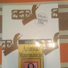 Libri di seconda mano: AZIMUT MATEMATICAS 8 - LIBRO DE TEXTO EGB. Lote 247603150