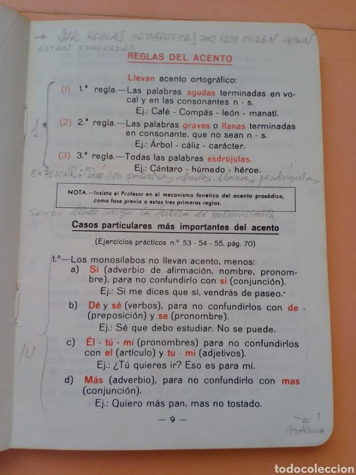 Libros de segunda mano: 1985 BREVE ORTOGRAFIA ESCOLAR MANUEL BUSTOS SOUSA TRATADO COMPLETO DE ORTOGRAFÍA, TAPA BLANDA - Foto 3 - 247689725