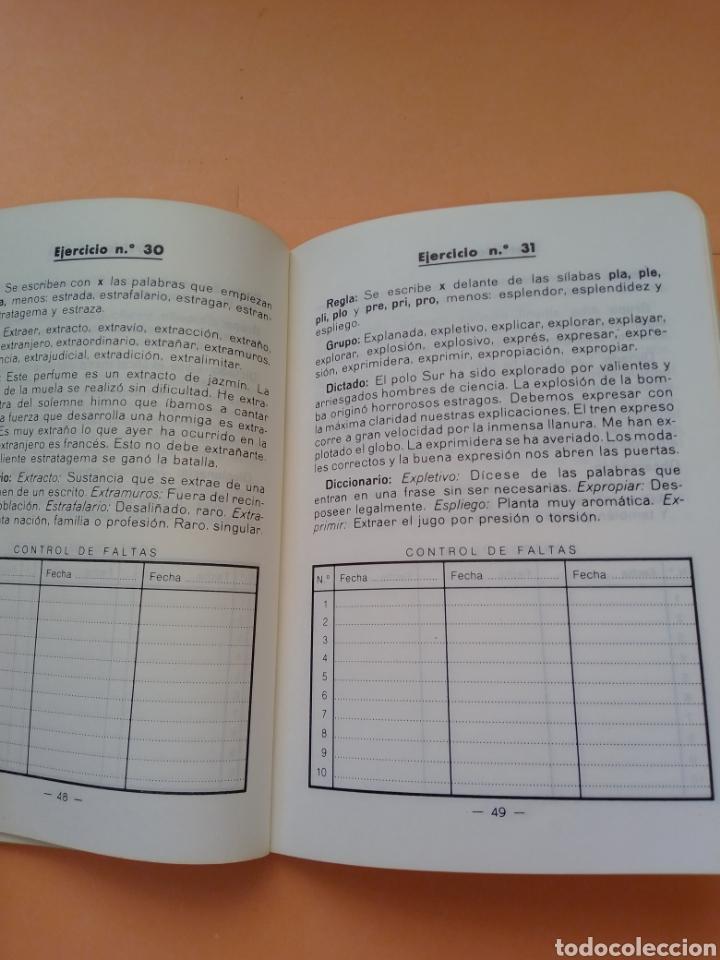 Libros de segunda mano: 1985 BREVE ORTOGRAFIA ESCOLAR MANUEL BUSTOS SOUSA TRATADO COMPLETO DE ORTOGRAFÍA, TAPA BLANDA - Foto 7 - 247689725