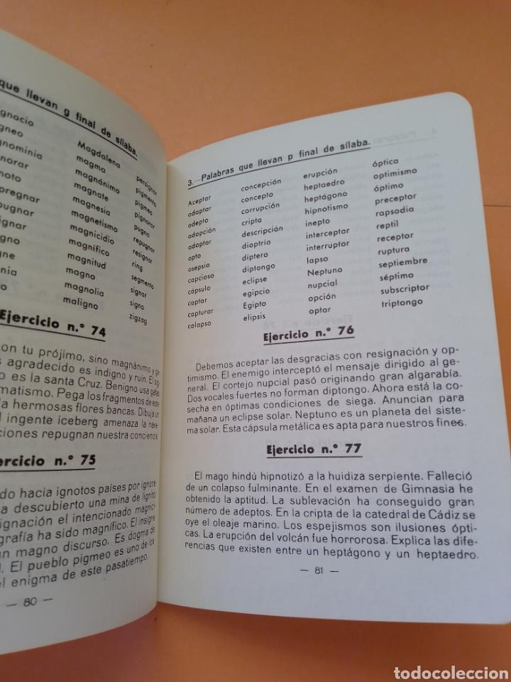 Libros de segunda mano: 1985 BREVE ORTOGRAFIA ESCOLAR MANUEL BUSTOS SOUSA TRATADO COMPLETO DE ORTOGRAFÍA, TAPA BLANDA - Foto 9 - 247689725