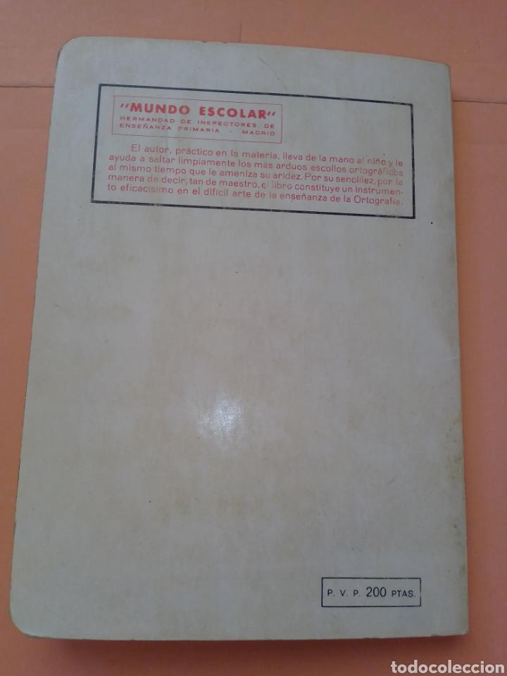 Libros de segunda mano: 1985 BREVE ORTOGRAFIA ESCOLAR MANUEL BUSTOS SOUSA TRATADO COMPLETO DE ORTOGRAFÍA, TAPA BLANDA - Foto 11 - 247689725
