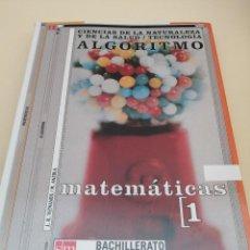 Livros em segunda mão: MATEMÁTICAS 1. BACHILLERATO. SM. 2004.. Lote 247709425