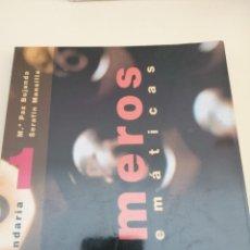 Livros em segunda mão: MATEMÁTICAS 1 SECUNDARIA. NUMEROS.. Lote 247710350
