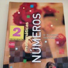 Livros em segunda mão: MATEMÁTICAS 2 SECUNDARIA. NUMEROS. SM.. Lote 247710650