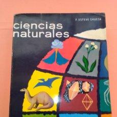 Libros de segunda mano: 1970 CIENCIAS NATURALES 5°CURSO, F. ESTEVE CHUECA, ED. MARFIL, 7° EDICION TAPA BLANDA. Lote 247915270