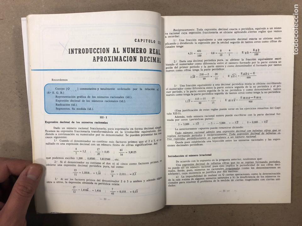 Libros de segunda mano: MATEMÁTICAS CURSO 1ª BUP. VV.AA. EDITORIAL LIBRERÍA GENERAL 1979. - Foto 4 - 248186275