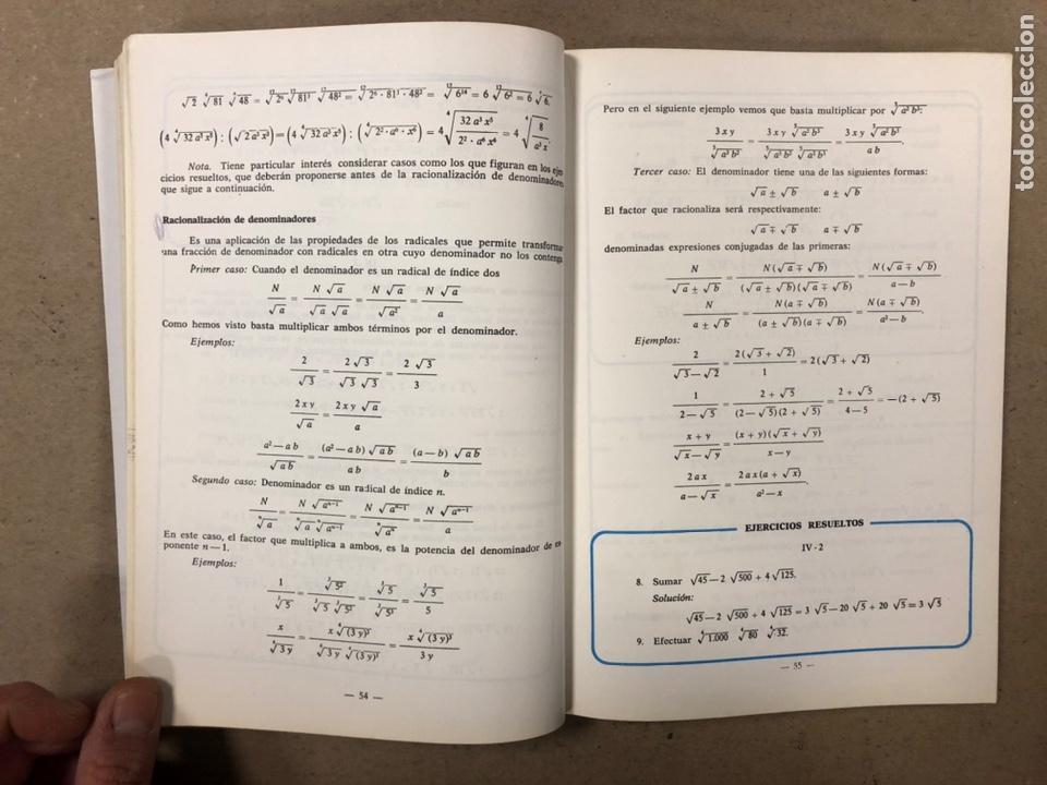 Libros de segunda mano: MATEMÁTICAS CURSO 1ª BUP. VV.AA. EDITORIAL LIBRERÍA GENERAL 1979. - Foto 5 - 248186275