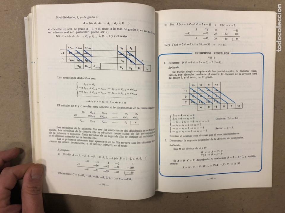 Libros de segunda mano: MATEMÁTICAS CURSO 1ª BUP. VV.AA. EDITORIAL LIBRERÍA GENERAL 1979. - Foto 6 - 248186275