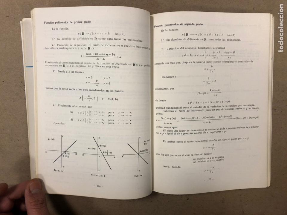 Libros de segunda mano: MATEMÁTICAS CURSO 1ª BUP. VV.AA. EDITORIAL LIBRERÍA GENERAL 1979. - Foto 7 - 248186275