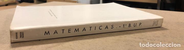 Libros de segunda mano: MATEMÁTICAS CURSO 1ª BUP. VV.AA. EDITORIAL LIBRERÍA GENERAL 1979. - Foto 11 - 248186275