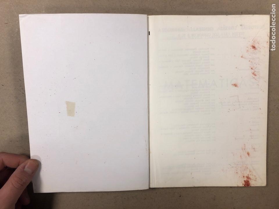 Libros de segunda mano: MATEMÁTICAS CURSO 1ª BUP. VV.AA. EDITORIAL LIBRERÍA GENERAL 1979. - Foto 13 - 248186275