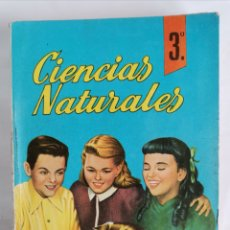 Livros em segunda mão: CIENCIAS NATURALES 3 CURSO BACHILLERATO 1964 PERFECTO ESTADO. Lote 251735580