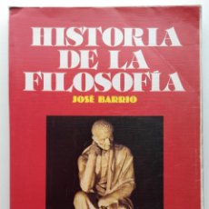 Livros em segunda mão: HISTORIA DE LA FILOSOFIA - COU - JOSE BARRRIO - ED. VICENS VIVES - 1988. Lote 251989490