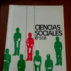 Libros de segunda mano: CIENCIAS SOCIALES 8° EGB. Lote 252662030