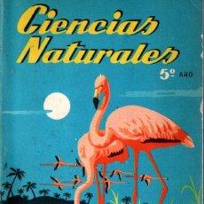 Libros de segunda mano: CIENCIAS NATURALES S.M. QUINTO CURSO DE BACHILLERATO (1965) COMO NUEVO. Lote 252768435