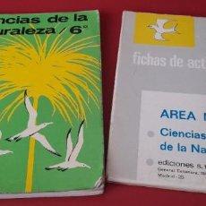 Libri di seconda mano: CIENCIAS DE LA NATURALEZA 6 CURSO S. M. + FICHAS DE ACTIVIDADES.. Lote 253515795