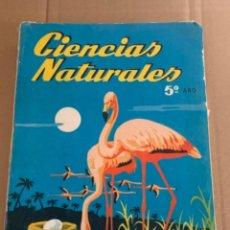 Libros de segunda mano: CIENCIAS NATURALES, 5 TO CURSO, EDITORIAL SM ((BOLS 5). Lote 253872950
