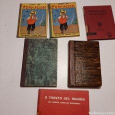 Libros de segunda mano: LOTE LIBROS ANTIGUOS DE ESTUDIO Y COLEGIO AÑOS 30 40 Y 60 COMPENDIO HISTORIA DE ESPAÑA 1932. Lote 254625920