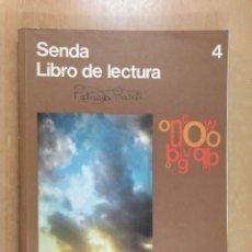 Libros de segunda mano: SENDA LIBRO DE LECTURA. 4º E.G.B. / EGB SANTILLANA.1980. Lote 254722195