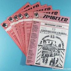 Libros de segunda mano: LOTE 6 REVISTAS RO ZIMBELER DE CASTILLAZUELO (SOMONTANO, HUESCA) Nº 0 ,1, 2, 3, 6, 16 (2000 A 2008). Lote 254979600