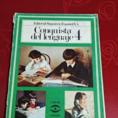 Libros de segunda mano: LA CONQUISTA DEL LENGUAJE 4. Lote 255431895